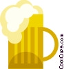 Mug of Beer Vector Clipart image