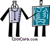 Vector Clipart image  of a X-Ray Equipment