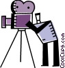 Vector Clipart image  of a Cameras