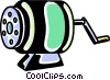 Vector Clipart picture  of a Pencil Sharpener