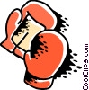 Vector Clipart graphic  of a Boxing gloves