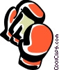 Boxing gloves Vector Clip Art picture