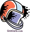 Vector Clipart graphic  of a Football Helmet