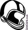 Vector Clipart illustration  of a Football Helmet