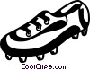 Vector Clipart picture  of a Soccer cleats