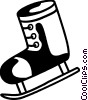 Vector Clip Art picture  of a Ice skates