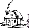 Cottage Vector Clip Art picture