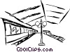 Subway station Vector Clipart illustration