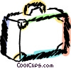 Luggage Vector Clipart illustration