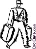 Bellboys Bellhops and Bell Captains Vector Clipart image