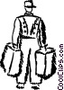 Bellboys Bellhops and Bell Captains Vector Clipart graphic