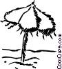 Umbrellas Vector Clipart picture