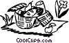 Vector Clipart image  of a Picnics and Barbecues
