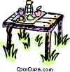 Picnics and Barbecues Vector Clipart picture