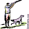 Hunting Vector Clip Art picture