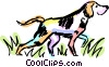 Bloodhound Vector Clipart picture