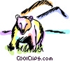 Grizzly Bears Vector Clipart illustration