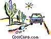 Family Cars Vector Clip Art picture