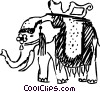 Elephants Vector Clipart picture