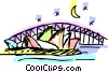 Vector Clipart graphic  of an Australia