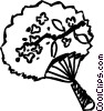 Vector Clipart graphic  of a Fans
