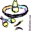Maracas Vector Clipart illustration