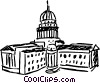 Capitols Vector Clipart picture