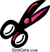 Vector Clipart illustration  of a Scissors