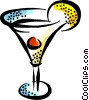 martini Vector Clipart illustration