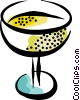 glass of wine Vector Clipart image