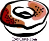 donut Vector Clipart illustration