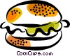 hamburger Vector Clipart picture