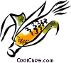 Vector Clip Art image  of a corn