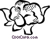 Vector Clipart image  of a cauliflower