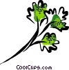 Vector Clip Art image  of a parsley