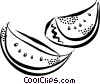 watermelon Vector Clipart illustration