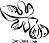 Vector Clip Art graphic  of a figs