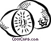 kiwis Vector Clipart graphic