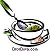 Soup Vector Clipart picture