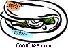 Vector Clip Art picture  of a Meals