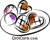 Vector Clip Art graphic  of a Cookies
