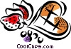 Vector Clipart illustration  of a Cookies