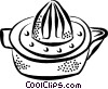 Vector Clip Art graphic  of a juicer