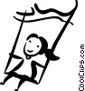 Swings Vector Clipart picture