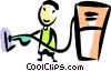 Vector Clipart image  of a Petroleum and Gasoline