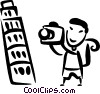 Leaning Tower of Pisa Vector Clip Art picture