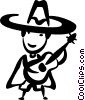 Vector Clipart picture  of a Spanish