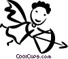 Cupid Vector Clipart graphic