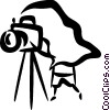 Photographers Vector Clipart image
