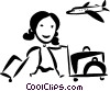 Pilots Vector Clipart graphic